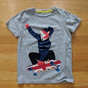 Mini Boden Skateboard Fox Bobby Tee